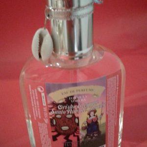 perfume orisha elegua con amuleto bucio 100ml